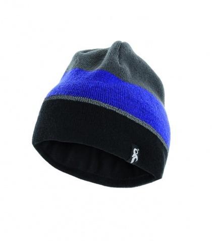 Cuffietta riflettente invernale lavorata a maglia