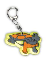 Ciondolo riflettente tartaruga
