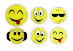 Adesivi riflettenti-set di smilies