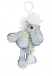 Ciondolo riflettente, animaletto cavallo