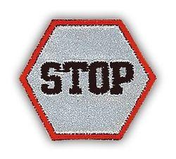 Immagine STOP applicazione termo-adesiva