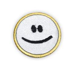 Immagine SMILEY applicazione termo-adesiva