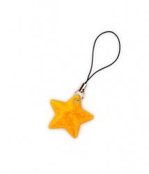 Tiretto per cerniere riflettente, raffigurante stella oro