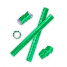 Nastro retrattile riflettente ( snap band ) verde.
