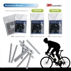 Tubicini riflettenti per raggi bicicletta, confezione da 36pz
