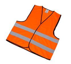 Gilet riflettente adulto taglia XL colore arancio